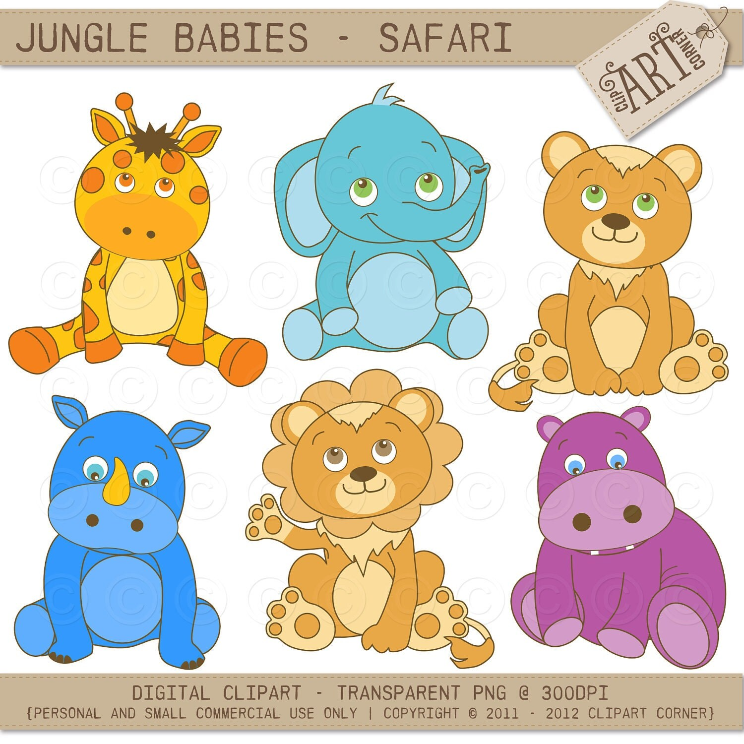 jungle baby clipart free - photo #43