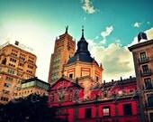Madrid Sky Fine Art Photo 8x12 - MatmePhoto