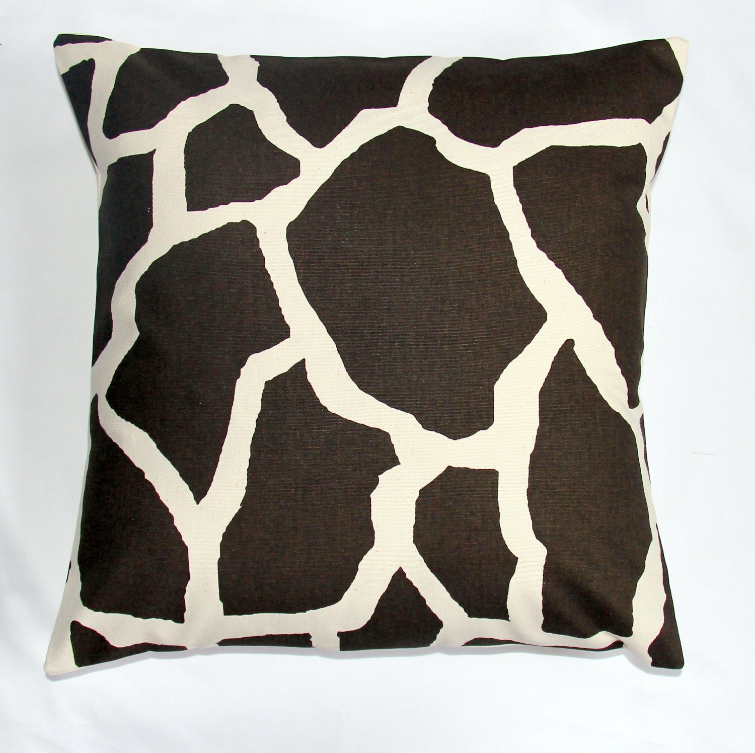 Giraffe Decorative Pillow : Pillow sofa pillow Giraffe Print cushion by ModernTouchDesigns