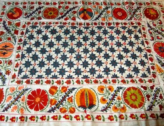 Uzbekistan Silk handmade Suzani