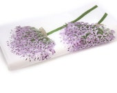 Napkin serviette for decoupage x 1. Lavender purple flowers. No 1030