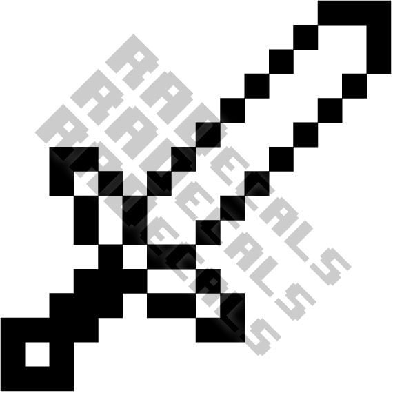 Black And White Minecraft Printables Pictures To Pin On