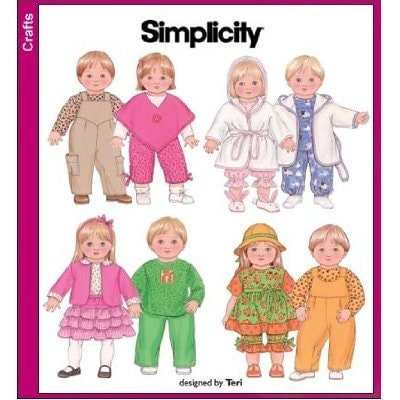 Free Patterns for clothes for Bitty Baby (15 inch doll) - Cloth