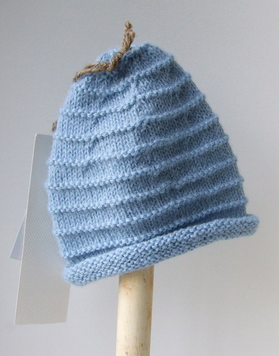 Hand Knitted Alpaca Baby Hat