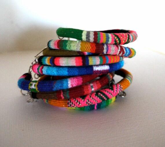 Peruvian Textile Bracelets
