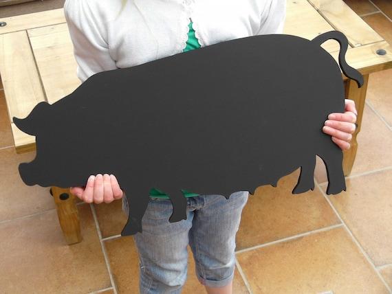 Pig Blackboard / Chalkboard