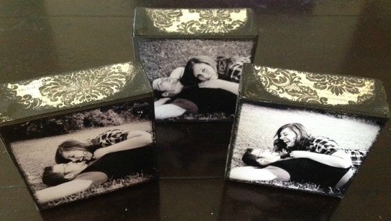 Set of three 4x4 Photo Canvases