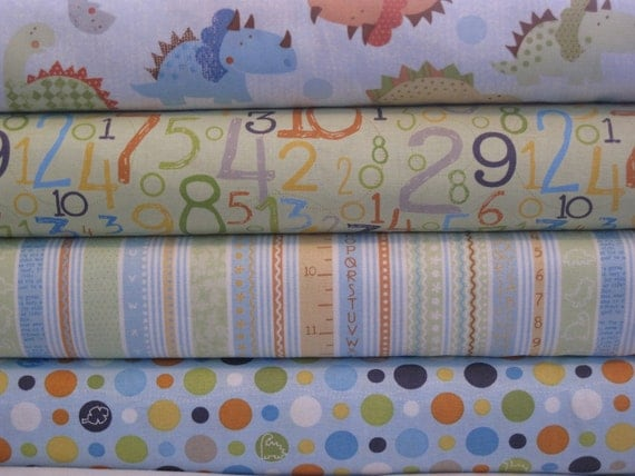Blend Fabrics Bundle Babysaurus-Yard Bundle