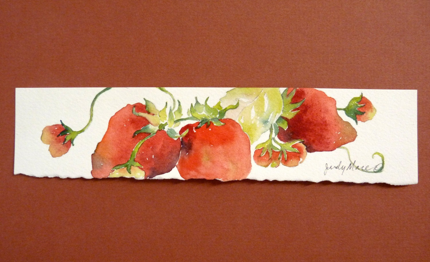 Painted Strawberry