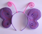 Butterfly Wings Headband