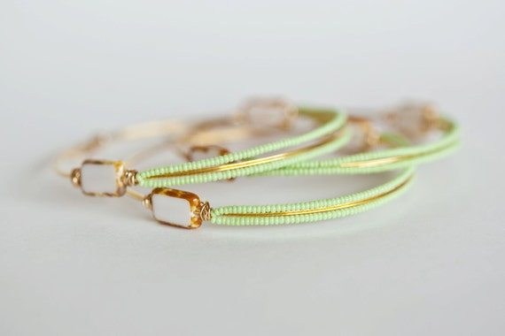 Lime Green LovelyB Bracelet