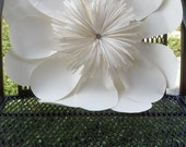 Large giant paper flower for wedding bouquet centerpiece, wedding decoration , baby shower, so many options....