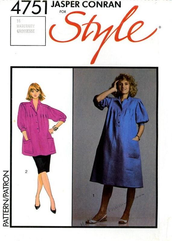 1980s Jasper Conran pattern - Style 4751 maternity separates