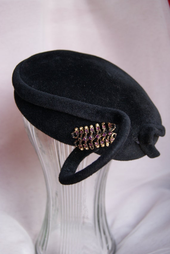 1950s Coralie hat from Vintage Buy Choice