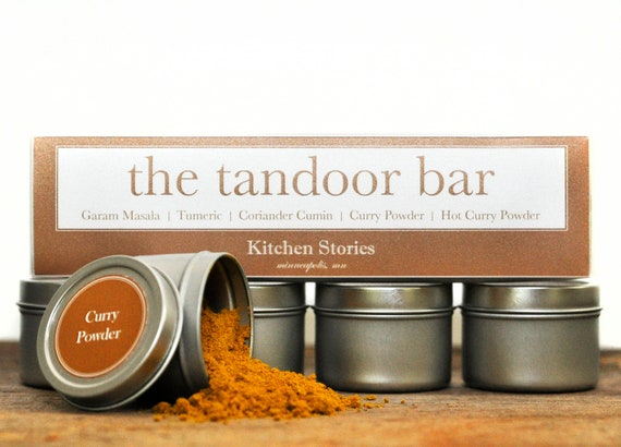 The Taste of India: The Tandoor Bar Indian Spice Kit. 5 great spices and blends to take you on a trip through India.