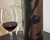 Cryptic Tree Wooden Wine Box