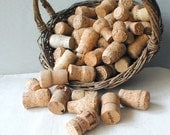 Salvaged Natural Champagne Cork Lot of 25 - thelostrooms