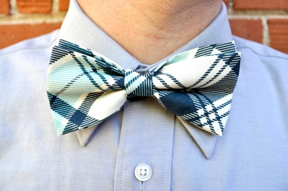 Men's Bow Tie-Plaid