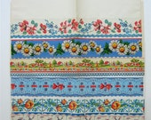 All Vintage Decorative Kitchen Shelf Paper Collection in Blues and Reds - lisacook