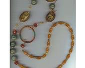 Gemstone Necklace - Free Shipping