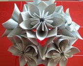 Kusudama ELECTRA with flowers
