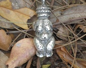 Primative Venus of Willendorff in Sterling Silver