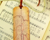 Map Bookmarks Old World Map Antiqued Map Bookmark Map Lovers' Gift Teachers Professors Historians