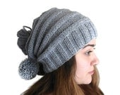 unisex, Gray neckwarmers,Hat, Beanie, autumn, wool, hand-knitted,fashion,gift, valentines day,men, women - likeknitting