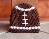 CROCHET PATTERN - Football Beanie