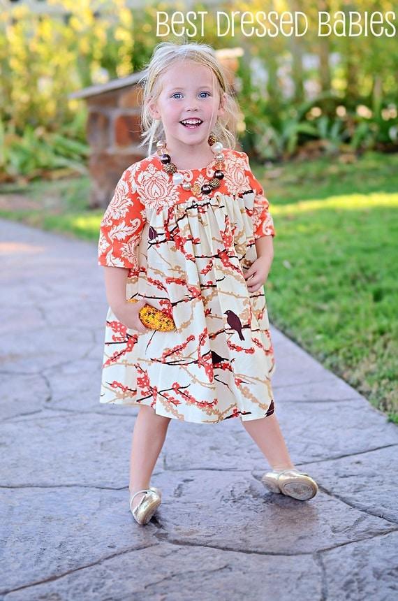 Sweet Sparrow Fall Dress