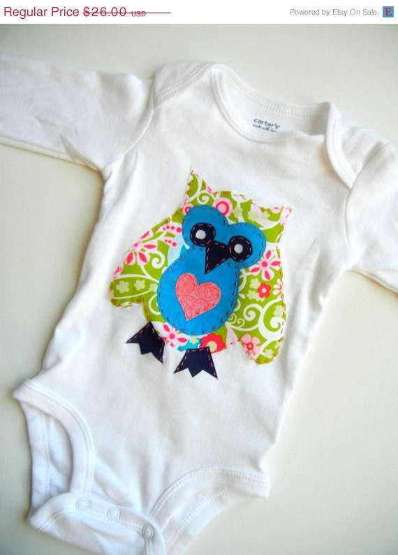 CYBER MONDAY SALE Baby & Toddler Clothing, Girls Clothing, Owl T Shirt