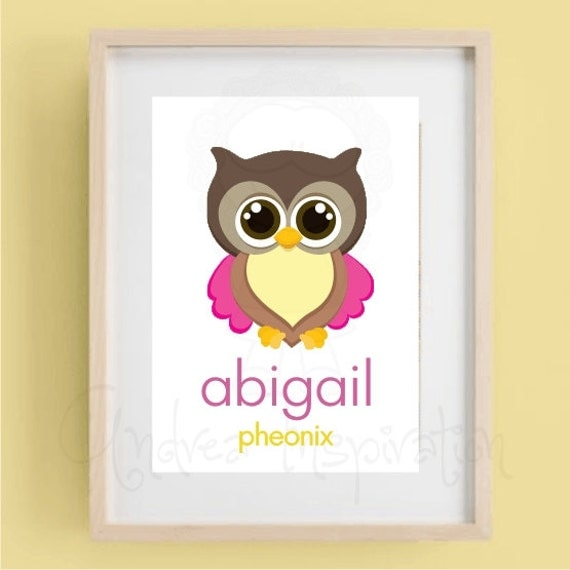 Owl baby room decorations photograph art owl nursery for Baby owl decoration
