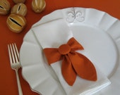 Napkin Ring Swags Set of 4 Pumpkin - thehiphostess