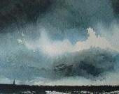 Storm Clouds Off New Jersey Coast (I) - bullockonline