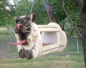 Cat's Meow Bird Feeder - MyCountryHaven