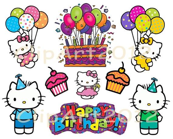 Hello Kitty Birthday Clipart Hello Kitty Birthday Clipart