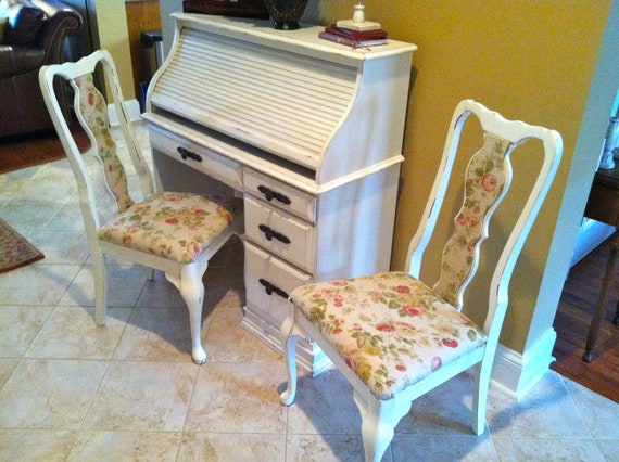 Beautiful Vintage Shabby Chic Dining Room by CooCooPigeonSisters