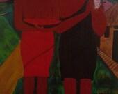 Paul Gauguin's Two Women Redux