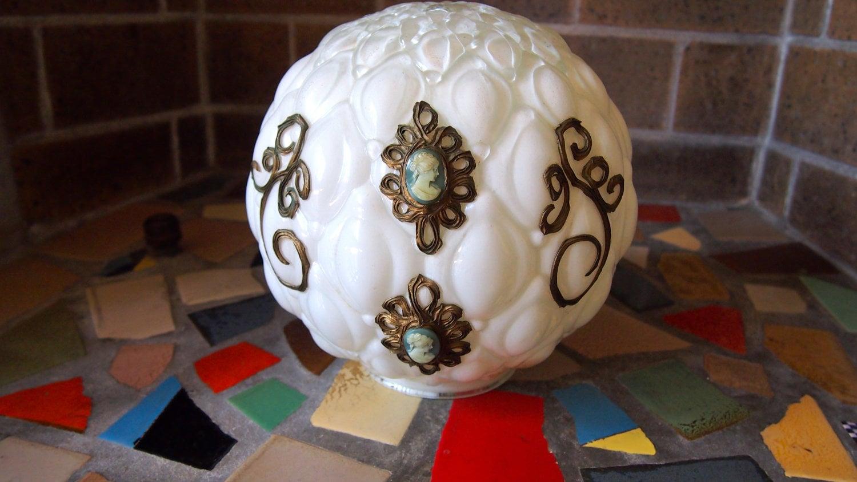 victorian lamp globe