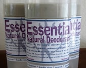 Essential All-Natural Deodorant... Combat Nasty Body Odor while Conditioning with Virgin Coconut Oil