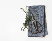 Organic Cotton Napkins (set of 2) Blue Clover - jennarosehandmade