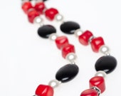 Red Hot Coral Necklace (DNY-3174)