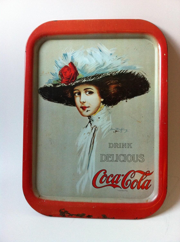 Vintage Coca Cola Tray 90