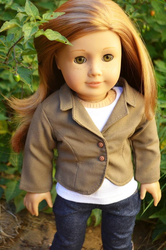 Polished and Sophisticated Blazer- A Blazer for American Girl Dolls