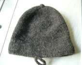 Monmouth Cap, handknitted using 100% wool, size small or medium