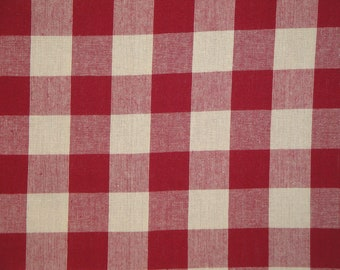 Buffalo Plaid Cotton Fabric