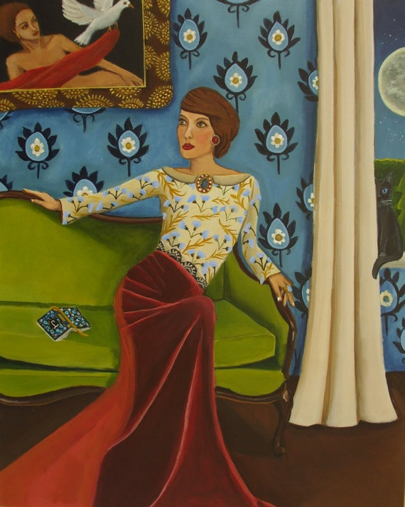 Original Painting Art-Stories Told by Catherine Nolin