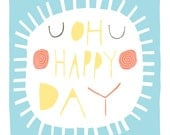 Oh Happy Day - Fine Art Prit (Large) - FreyaArt