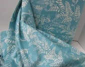 Cotton Fabric: Jenean Morrison Power Pop Girl Friend in Aqua - 1 YD - FabricFascination