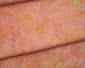 Peach Shrimp Hoffman Batik Hand Painted in Bali - 1 YD - FabricFascination